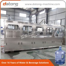 3-5 gallons barrel pure water filling machine production line