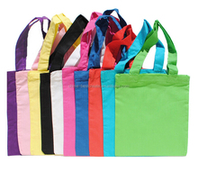 "8""x9"" 5 oz color cotton bag Natural Cotton Tote Bag from china factory"