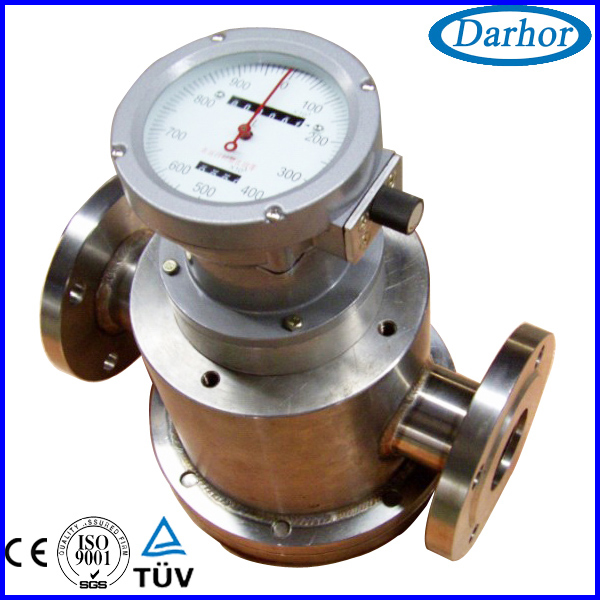 Oval gear Positive displacement flow meter