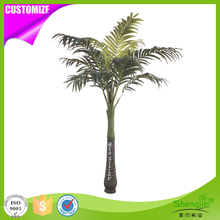 Newest evergreen Landscape indoor home decorative artificial indoor palm trees