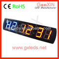 New style Ganxin led GYM timer red blue alibaba europe