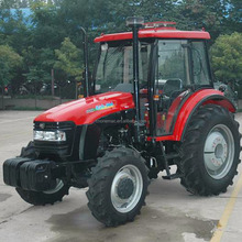 Hot Sale Lutong 50HP 4WD wheeled tractor with front loader LT504
