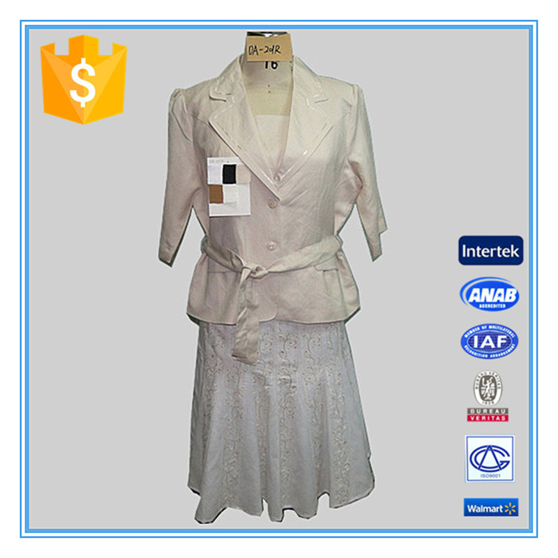Top Fashion Womens Formal Blouse And White Skirt Office Suit