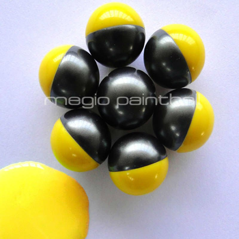2000 Round Yellow fill Field Paintball sport bullet