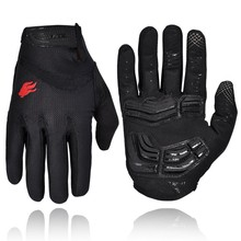Firelion 3 Colors Gel Touch Screen Full Finger Cycling Gloves Riding MTB Gloves For Men CG-055