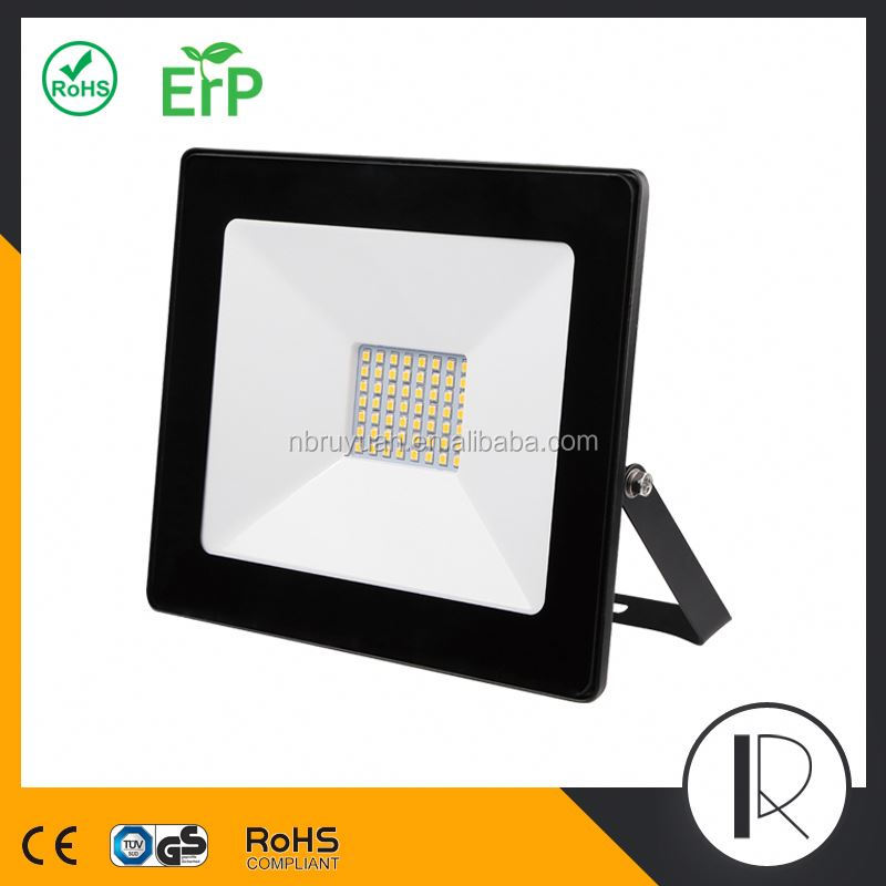 82846 New Factory super slim most powerful solar led flood light ip67 led flood light 30w led flood light CE RoHS GS