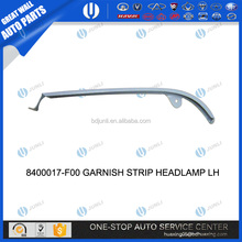 GREAT WALL DEER SAFE AUTO PARTS 8400017-F00 GARNISH STRIP HEADLAMP LH great wall pickup parts