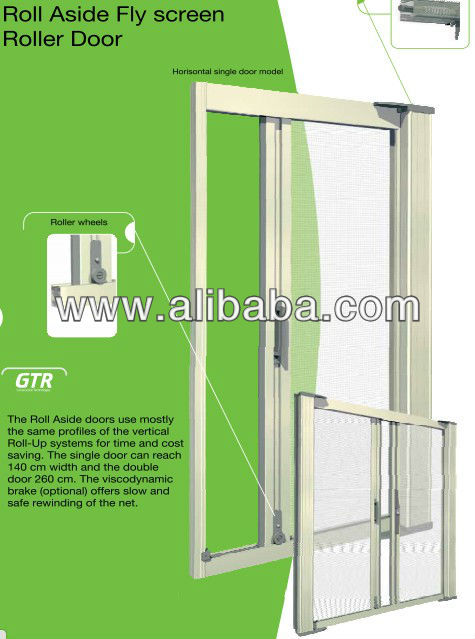 ROLL ASIDE FLY SCREEN SYSTEMS