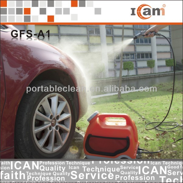 GFS-A1-high pressure car cleaners with 15L water tank