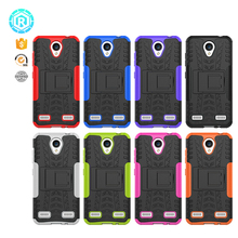 Hard PC plastic phone cover back protective case for ZTE Blade A520 with kickstand