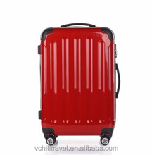 China cheap striped hard luggage case Exported to Worldwide