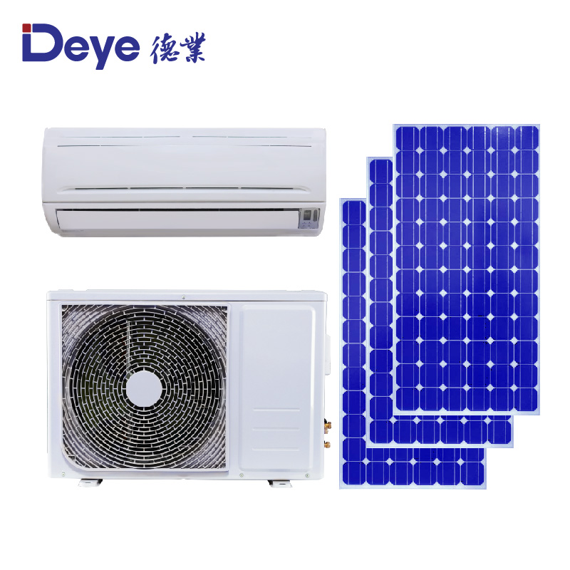 DC/<strong>AC</strong> dual power hybrid 12000 BTU Solar Air Conditioner