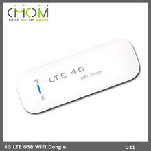 Unlock 4g Router Lte USB wifi dongle Sim Card Wifi Router for car U21