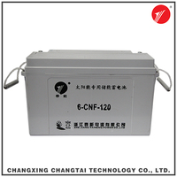 Deep Cycle Rechargeable solar power storage battery with high capacity