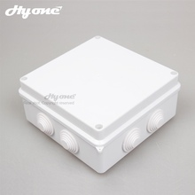 High waterproof grade IP55 protection degree new ABS material 150x150x70 wiring joint enclosure