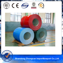 Thickness 0.40mm PPGL Steel Coil for roofs and outside walls