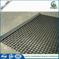 Building Materials sand sieving mesh black spark screen mesh steel wire mesh crimped roll