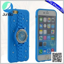 Wholesale Cell Phone Accessories Modest Rhinestone Diamond Unbreakable Mobile Phone Cover For iphone6
