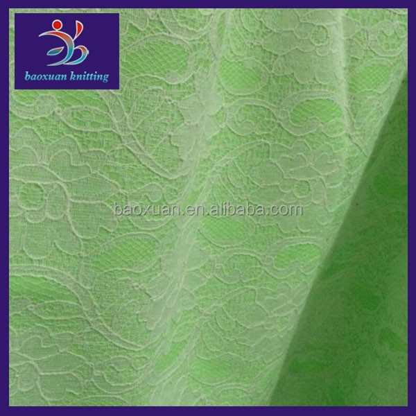 Polyester fleece bonded african lace fabrics/ fabric lace