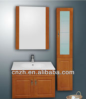 pvc cheap single bathroom vanity made in china