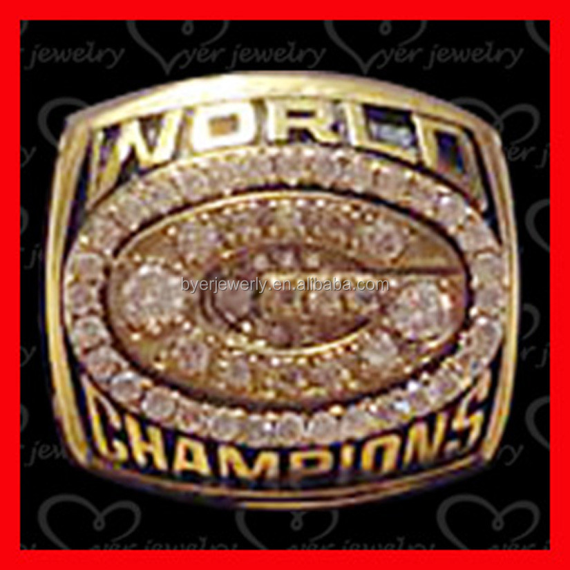 world champions green bay packers world championship ring