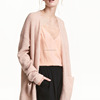 Autumn Mohair Blended Knitwear Woman Sweater