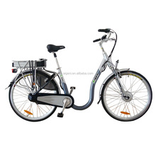 Cheap Chinese Electric Bicycle CE Green Adult City Electric Bike