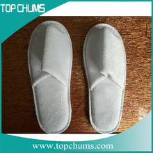 Cotton Velour Hotel Slipper with Eva sole Hotel Slippers for Luxury hotel supplies