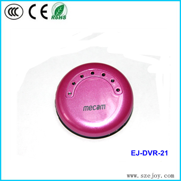 2014 support Video and Audio wearable 1280*720P 6 Infrared LED lights mini camera without wire