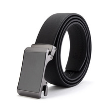 Yiwu hot sale formal automatic adjustable sexy chastity brand genuine leather material man belt