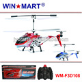 WM-F3D108 low price 3ch mini rc helicopter with gyro