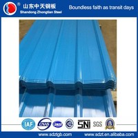 trapezoidal steel roof tile prepainted corrugated steel sheet building materials
