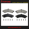 Brake Pads 12497782 D882 GDB7657 Spare Parts For CHEVROLET GMC