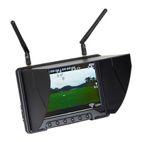 C806 32 Channel Wireless AV Receiver 7 inch 5.8G HD FPV Aerial Photography Monitor System