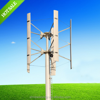 Low speed H Type 5KW wind power generator made in china