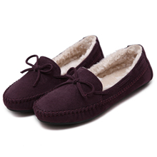 Low price good quality of ladies bowknot shoes