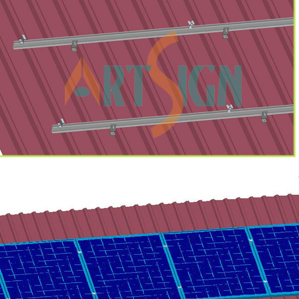 roof mount,metal roof system,home solar panel kit
