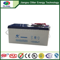 Popular 12volt 200 ah gel battery for ups and solar system