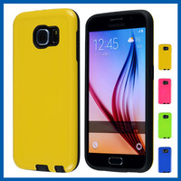 C&T 2 in 1 Hybrid Silicone TPU & Plastic Rugged Heavy Duty Combo High Impact Durable Back Cover Phone Case for Samsung Galaxy S7