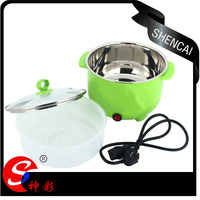 Stainless steel housing Mini Electric food steamer