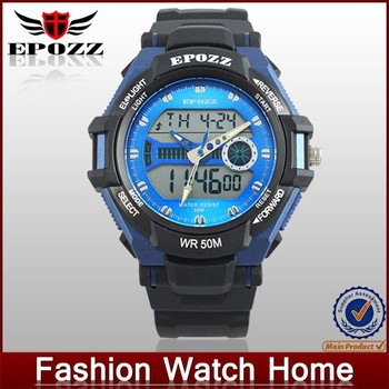 2015 trendy wholesale rubber band teenage fashion watches