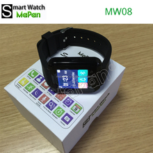MaPan MW08 Smart watch,blue tooth connect with mobile phone smart wrist watch
