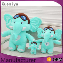 creative pretty gift different sized elephant plush toy wholesale