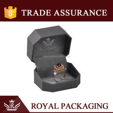 Promotion Crystal Ring Box with Velvet Insert
