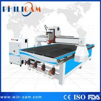 2016 directly manufacture Taiwan HIWIN Square Rail furnituring making cnc router machine price