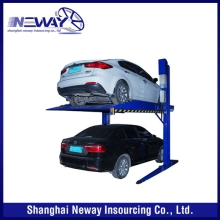 Factory top level hydraulic automated car parking system