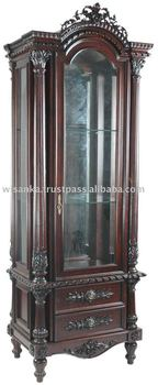 Fine French Reproduction Display Cabinet