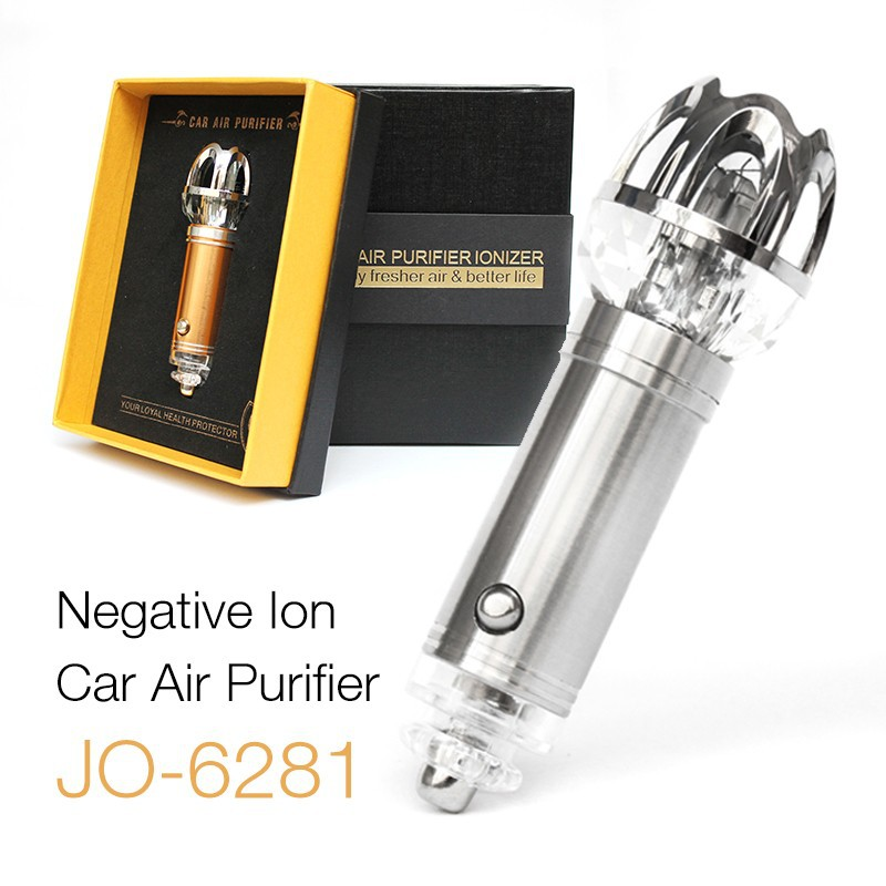 Ionkini Crystal Car Air Purifier Ionizer JO-6281 (4,800,000 pcs/cm3 Negative Ion with Trade Assurance)