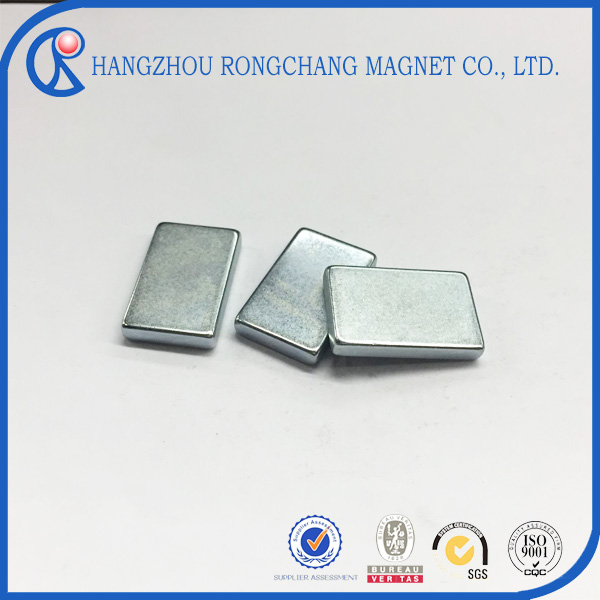 Industrial Customized Neodymium Multipole thin block rectangle magnet