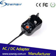 12W Wall Adapter Power Supply 12V DC Adapter For CCTV / Router / PC / Phone